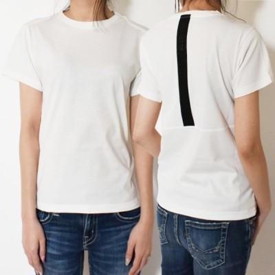 【SALE対象★返品交換不可】MONCLER モンクレール 半袖Tシャツ 8C7B010 829H8 034 レディース カットソー バックライン