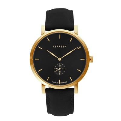 LLARSEN エルラーセン  腕時計 LL143GBCL ブラック 新品