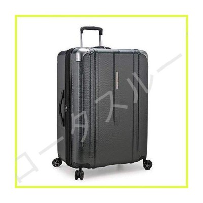 Traveler's Choice New London II Hardside Expandable Spinner Luggage, Gray, Checked-Large 29-Inch 並行輸入品