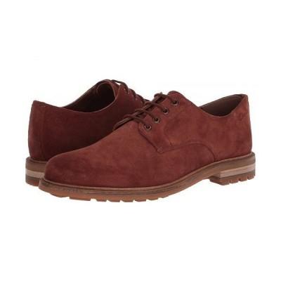 Clarks クラークス メンズ 男性用 シューズ 靴 オックスフォード 紳士靴 通勤靴 Foxwell Hall - British Tan Suede