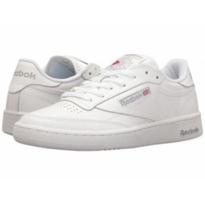Reebok Lifestyle リーボック メンズ 男性用 シューズ 靴 スニーカー 運動靴 Club C 85 Int/White/Sheer Grey【送料無料】