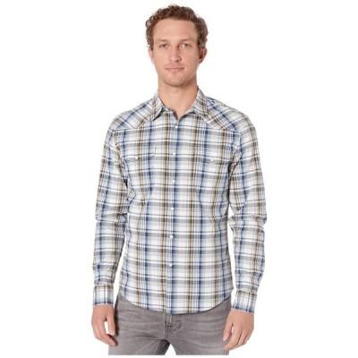 ラッキーブランド メンズ シャツ トップス Long Sleeve Santa Fe Western Shirt