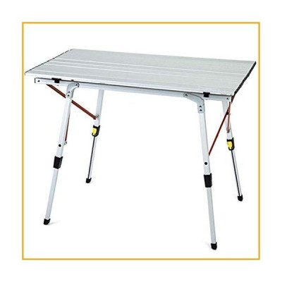 ZLDCTG Portable Folding Camping Table Aluminum Lightweight Camp Table with Carrying Bag for Outdoor Camping Hiking Picnic Backpacking【並