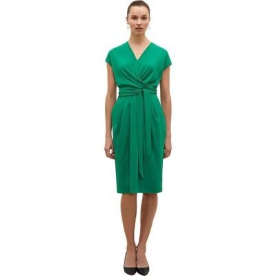 エムエムラフルール M.M.LaFleur レディース ワンピース ワンピース・ドレス Noel Dress - Soft Wave Emerald