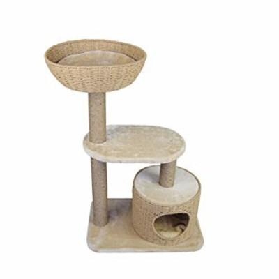 猫のクライミングフレームサイザル猫のグラブボードオールインワン大型高級(中古品)