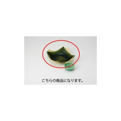 和食器 黄瀬戸織部 合せ皿(中) 36K021-25 まごころ第36集 【キャンセル/返品不可】