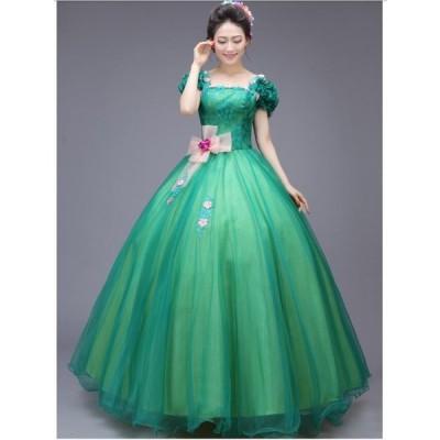 高品質 プリンセス フレアスカート 結婚式 パーティードレス ロングドレス ウエディングドレス 二次会 着痩せ ドレス 20代30代40代 イベント エレガント ロング