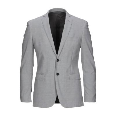 トネッロ TONELLO テーラードジャケット ライトグレー 46 バージンウール 100% テーラードジャケット