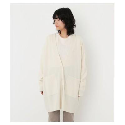 【ブラックバイマウジー】 loose knit cardigan レディース O/WHT FREE BLACK BY MOUSSY