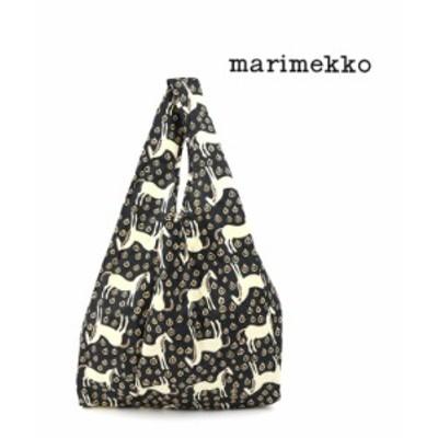 marimekko エコバッグ ショッピングバッグ スマートバッグ SMARTBAG MUSTA TAMMA ムスタ タンマ marimekko 52214290176 国内正規品 2021