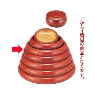 寿司 寿冠鉢色紙金箔外朱尺0寸 [32φ x 6.5cm] ABS樹脂 (7-458-3) 料亭 旅館 和食器 飲食店 業務用