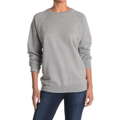 リダン レディース パーカー・スウェットシャツ アウター Classic Raglan Sweatshirt HEATHER GREY