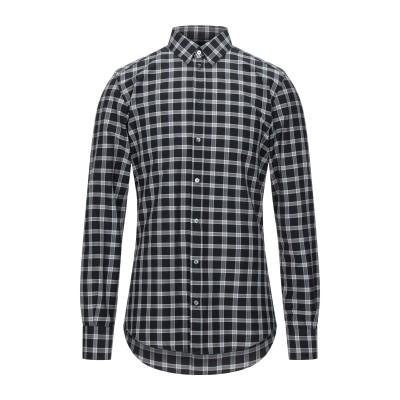 ドルチェ & ガッバーナ DOLCE & GABBANA シャツ ブラック 39 コットン 60% / ナイロン 40% シャツ