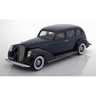 BOS Models 1:18 1937年モデル リンカーン V12 Model K リムジン ダークブルー・ブラック