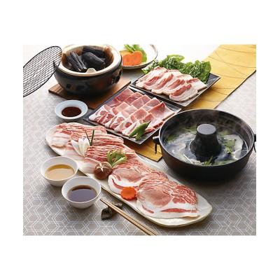 <ミヤチク/ミヤチク> 九州産黒豚しゃぶしゃぶ肉と焼肉セット SW-554【三越伊勢丹/公式】