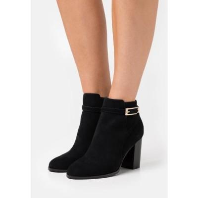 アンナフィールド レディース 靴 シューズ LEATHER - Ankle boots - black