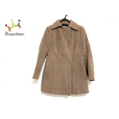 コスチュームナショナル COSTUME NATIONAL コート サイズ38 M レディース ライトブラウン 冬物   スペシャル特価 20210107