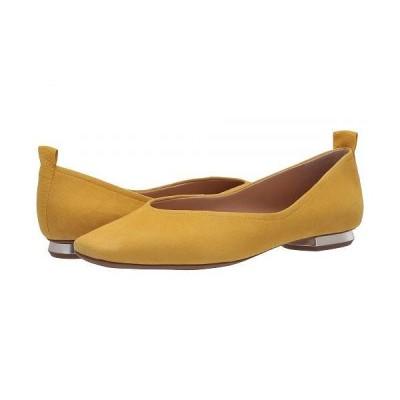 Franco Sarto フランコサルト レディース 女性用 シューズ 靴 フラット Ailee - Yellow