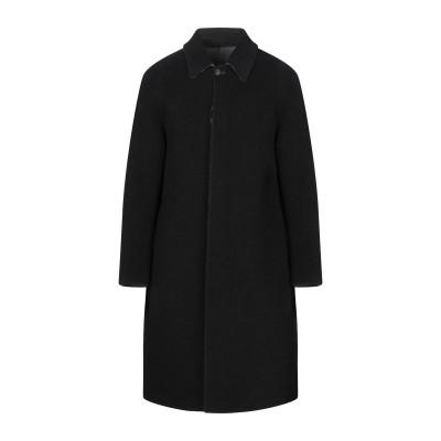 イーヴォ HEVÒ コート ブラック 50 ウール 81% / ナイロン 19% コート