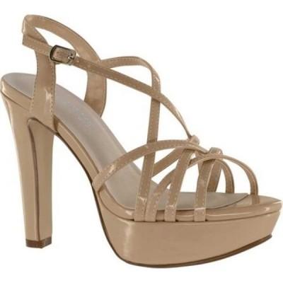 タッチアップス Touch Ups レディース サンダル・ミュール シューズ・靴 Wren Strappy Sandal Nude Patent