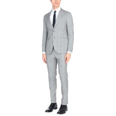 LUIGI BIANCHI Mantova スーツ グレー 56 ウール 100% スーツ