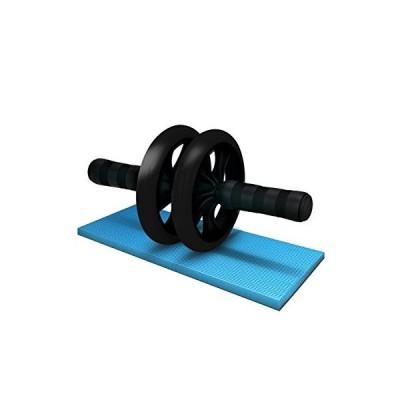 LICLI 腹筋ローラー 「簡単 筋トレ コンパクト 健康器具 」「取扱説明書 製品保証あり」「静音 高耐久性 膝クッ