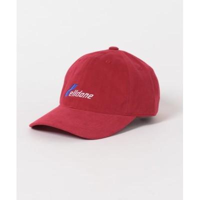 (URBAN RESEARCH ROSSO/アーバンリサーチロッソ メンズ)WE11DONE WD LOGO CAP/メンズ RED