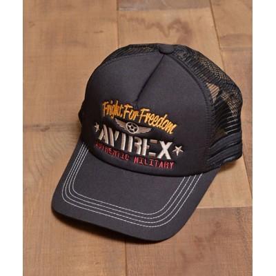 (AVIREX/アヴィレックス)AUTHENTIC MILITARY CAP/ユニセックス ブラック