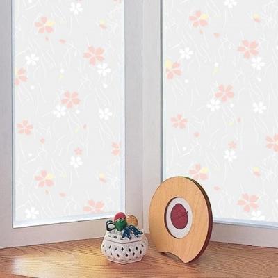 ★促銷★〔日本MEIWA〕抗UV靜電窗貼 (日式小花)92x100公分