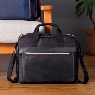 デービットヒックス ビジネスバッグ (DHBU500-BK[ブラック])