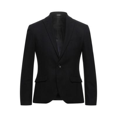 OFFICINA 36 テーラードジャケット ブラック 46 ウール 60% / ポリエステル 30% / ナイロン 10% テーラードジャケット