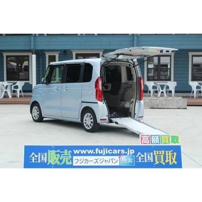 N-BOX その他 福祉車輌 電動ウィンチ 車いす固定装置