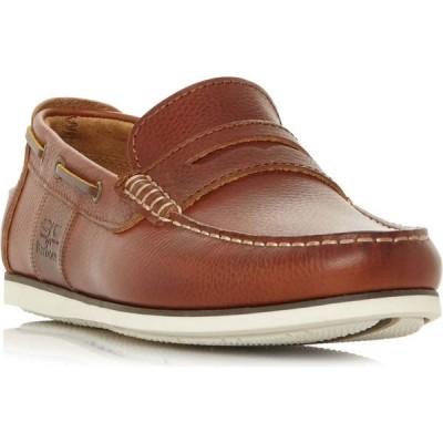 バブアー Barbour Lifestyle メンズ デッキシューズ シューズ・靴 Keel Classic Boat Shoes Tan