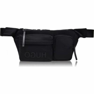 ヒューゴ ボス Hugo メンズ ボディバッグ・ウエストポーチ バッグ Reverse Kigi Multi Pocket Belt Bag Black