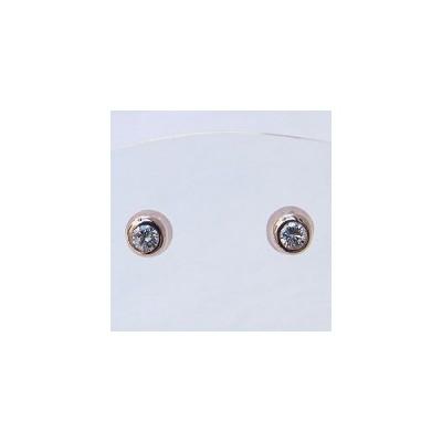 メンズ ダイヤモンド ピアス k18PG ピンクゴールド 送料無料 普段使い アクセサリー ジュエリー 記念日 プレゼント ギフト 人気