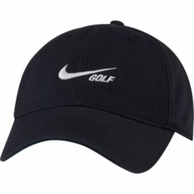 ナイキ Nike メンズ 帽子 Heritage86 Washed Hat Black/Sail