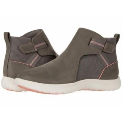 Clarks クラークス レディース 女性用 シューズ 靴 ブーツ アンクル ショートブーツ Adella Cove Stone Textile【送料無料】