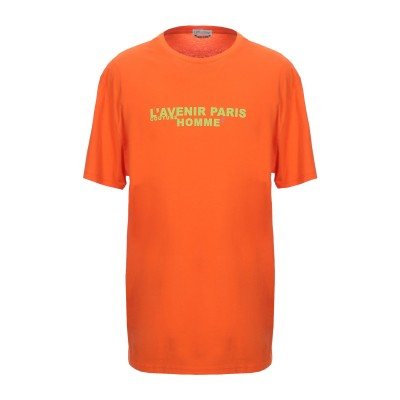 ダニエレ アレッサンドリーニ オム DANIELE ALESSANDRINI HOMME T シャツ オレンジ S コットン 100% T シャツ