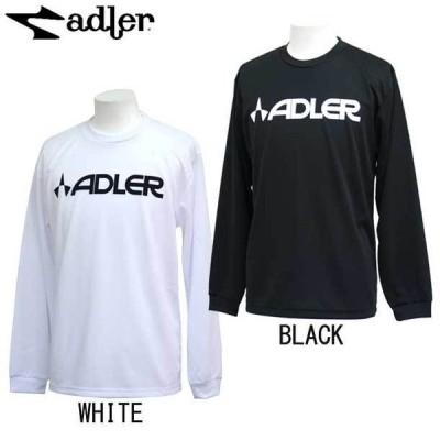 Logo L/S Tee  adler アドラー サッカー ウェア 長袖Tシャツ プラクティスシャツ 20FW(OVAD0070-LOGO)