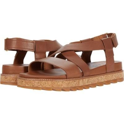 ソレル SOREL レディース サンダル・ミュール シューズ・靴 Roaming(TM) Crisscross Sandal Velvet Tan