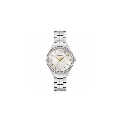 ブローバ Bulova 腕時計 おしゃれ レア 98L282 Women's Steel Bracelet Wristwatch