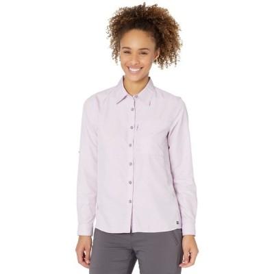 マウンテンハードウェア シャツ トップス レディース Canyon Long Sleeve Shirt Hydrangea