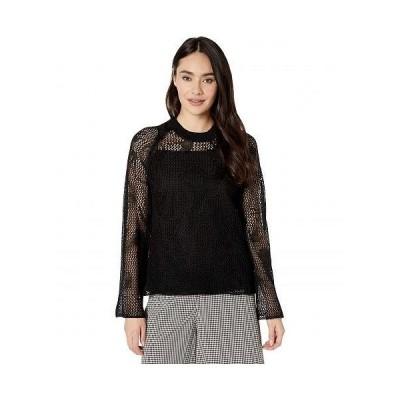 McQ マックキュー レディース 女性用 ファッション セーター Unoko Knits Jumper - Darkest Black