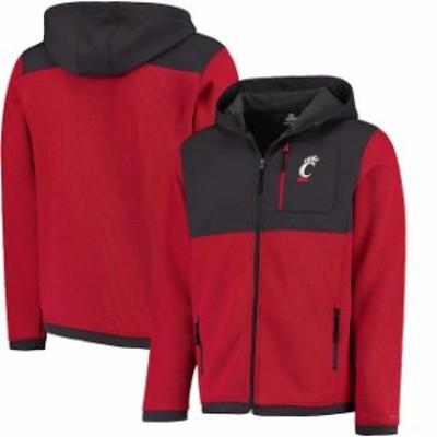 Colosseum コロセウム スポーツ用品  Colosseum Cincinnati Bearcats Red/Charcoal Miramar Full-Zip Jacket