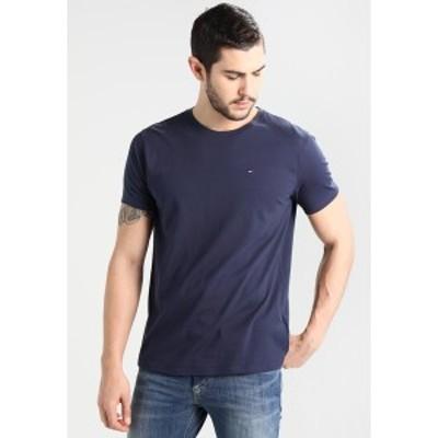 トミーヒルフィガー メンズ Tシャツ トップス ORIGINAL TEE REGULAR FIT - Basic T-shirt - black iris black iris