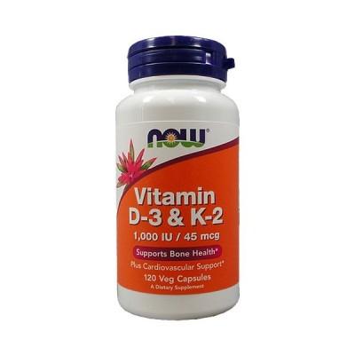 ビタミンD-3 & K-2 120ベジカプセル/20081