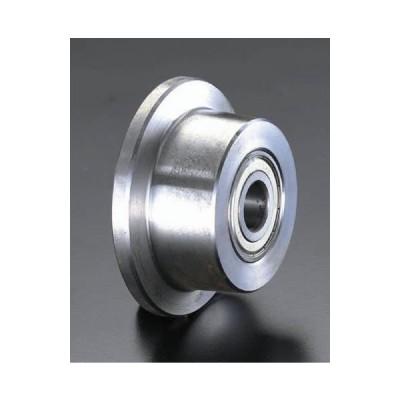 エスコ 125×50mm車輪(Bベアリング・スティール製・レール用) EA986SF-125 1個