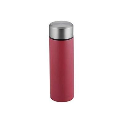 和平フレイズ ポケットに入るミニサイズ 小容量マグ 180ml レッド スクリュー栓 コップ1杯持ち歩き プチボトルRH-1525