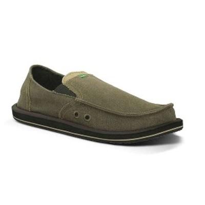 サヌーク メンズ スニーカー シューズ Sanuk Men's Pick Pocket Shoe Brown