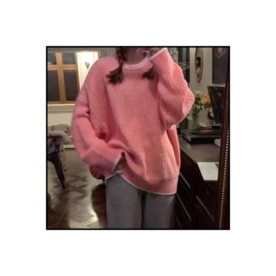 【送料無料】~ オーバーサイズ ルース 何でも似合う 長袖のセーター 秋冬 手厚い ティーヘッジ ニット   346770_A64425-5860569